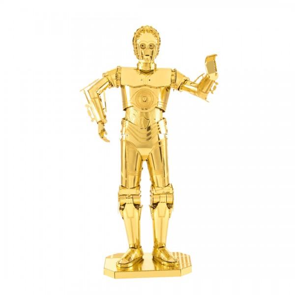 Metal Earth Metallbausatz Star Wars C-3PO gold