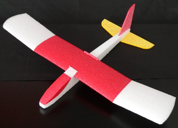 Felix 30, Flugmodell aus Flexipor