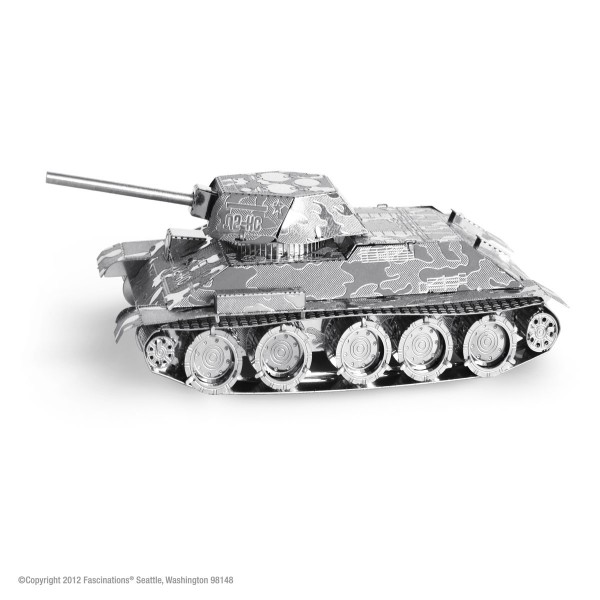 Metal Earth Metallbausatz T-34 Panzer