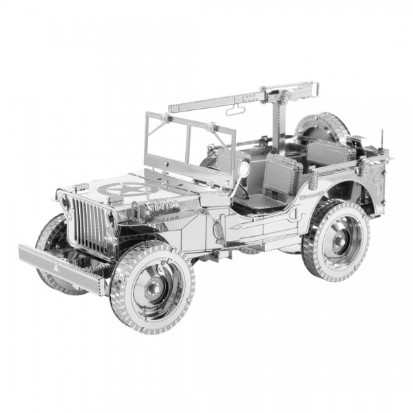 Metal Earth Metallbausatz IconX Willys Jeep