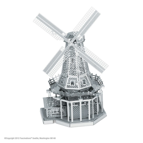 Metal Earth Metallbausatz Windmühle