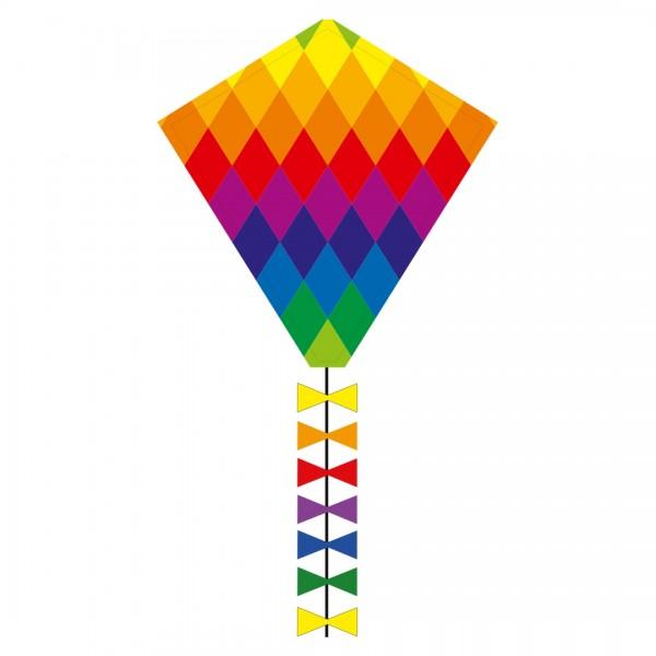 Eddy-Drachen Rainbow Patchwork