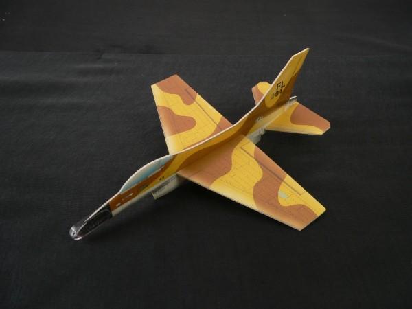 Gleitflugmodell aus Depron, F16, 6-fach sortiert,