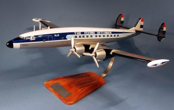 Super Constellation KLM, Schreibtischmodell aus Holz
