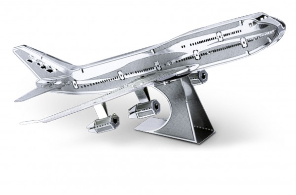 Metal Earth Metallbausatz Boeing 747