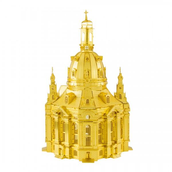Metal Earth Metallbausatz IconX Frauenkirche Dresden, gold