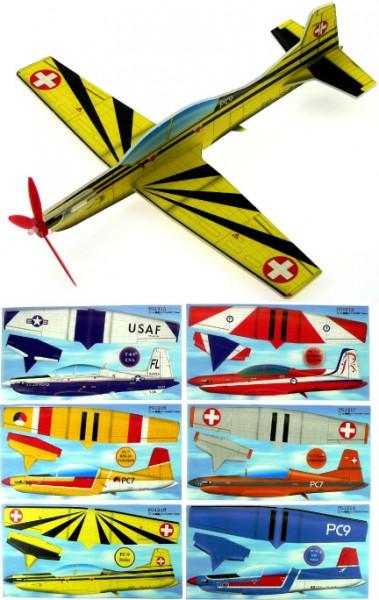 Gleitflugmodell aus Depron,Pilatus PC 7/9