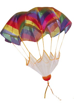Fallschirmball, mehrfarbig