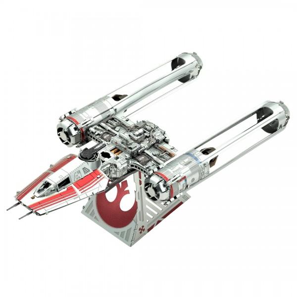 Metal Earth Metallbausatz Star Wars Zorris Y-Wing Fighter