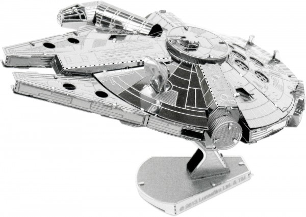 Metal Earth Metallbausatz Star Wars Millenium Falcon