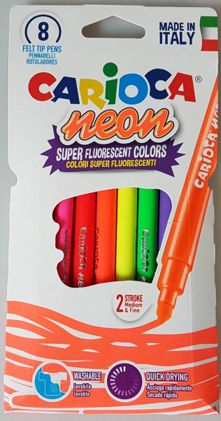 Stifteset Leuchtfarben 8 Stück