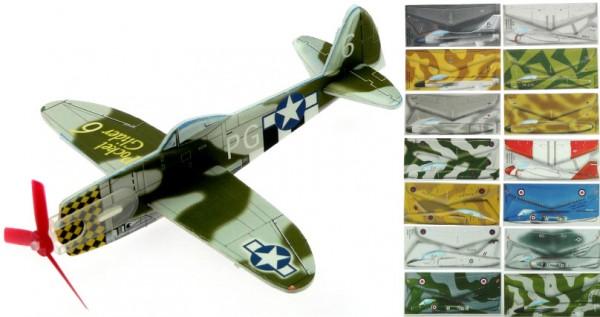 Gleitflugmodell aus Depron, WW2, 10er Set