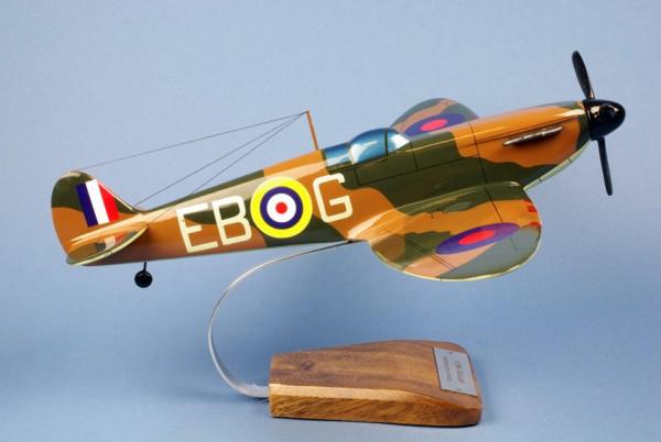 Spitfire, Schreibtischmodell aus Holz