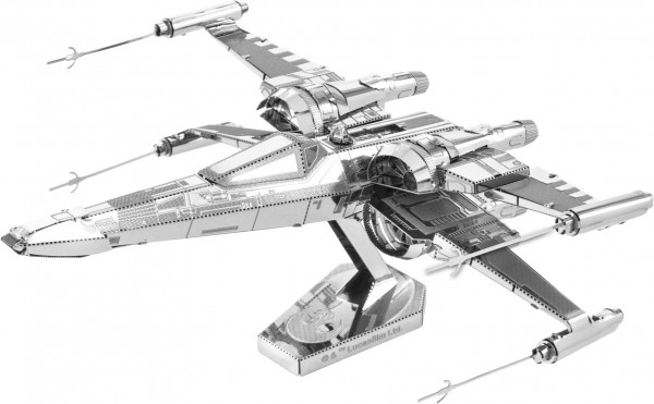 Metal Earth Metallbausatz Star Wars EP 7 Poe Damerons X-Wing Fighter-Copy